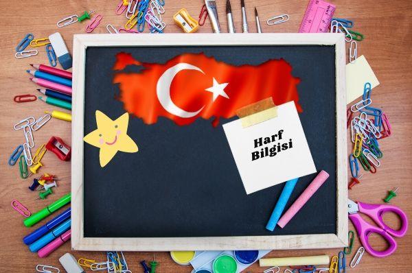 1.Sınıf Türkçe Harf Bilgisi Testi