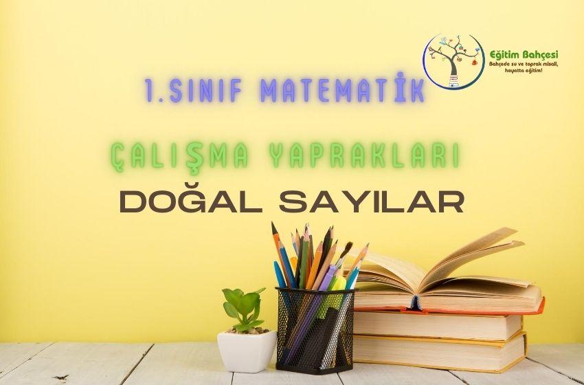1.Sınıf Matematik Doğal Sayılar Çalışma Yaprakları