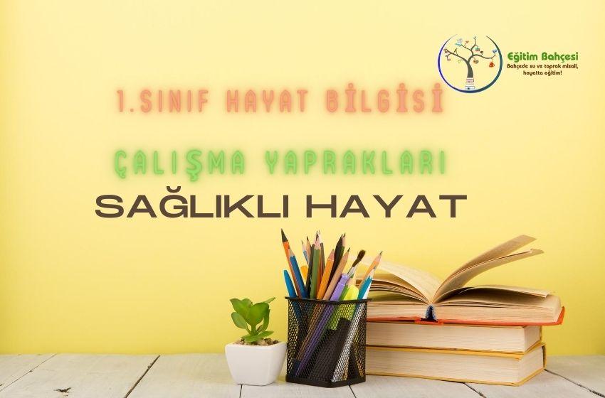 1.Sınıf Hayat Bilgisi Sağlıklı Hayat Çalışma Yaprakları