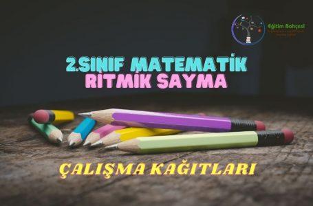 2.Sınıf Matematik Ritmik Saymalar Çalışma Kağıtları