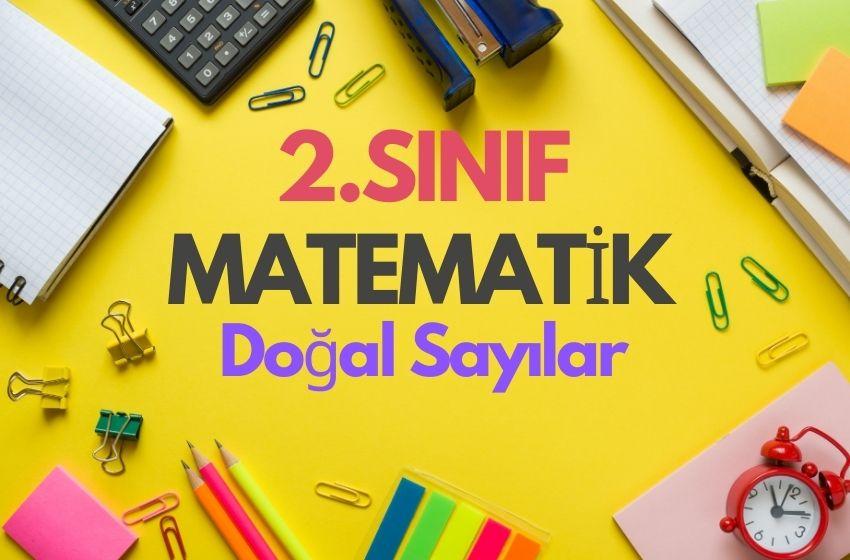 2.Sınıf Matematik Doğal Sayılar Testi