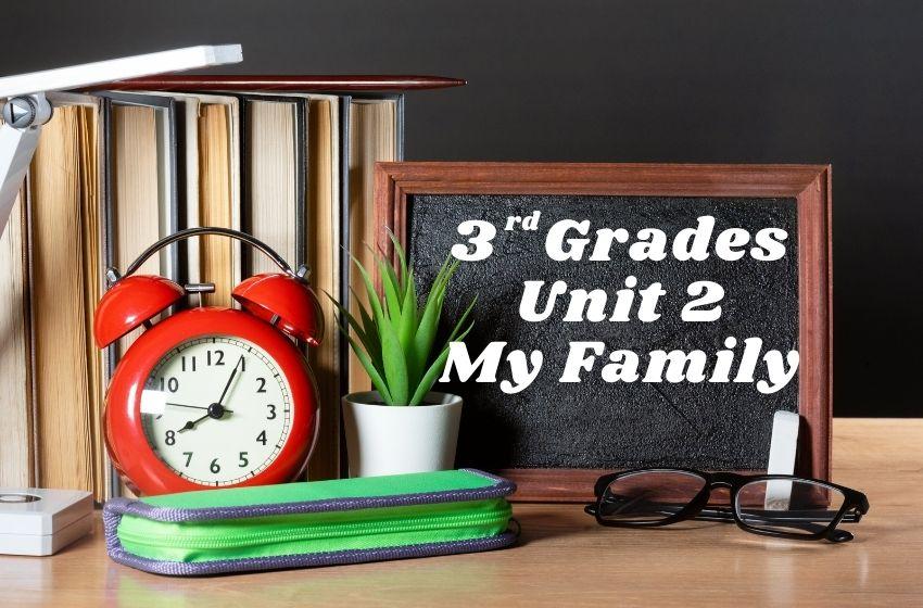 3.Sınıf İngilizce My Family Ünite Testi