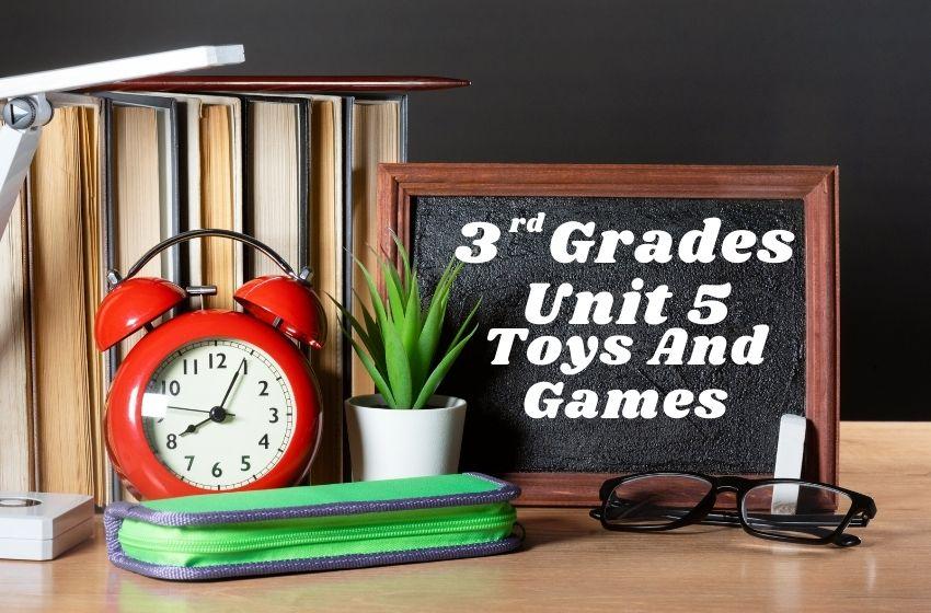 3.Sınıf İngilizce Toys And Games Ünite Testi