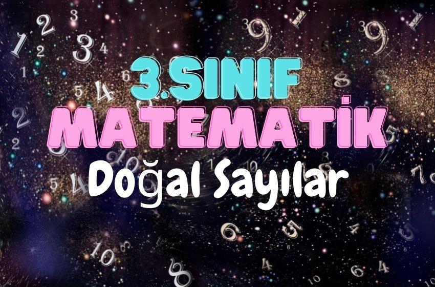 3.Sınıf Matematik Doğal Sayılar Testi